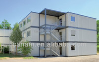Prefab House Mobile Office Container Flatpack Constructions With sandwich panel