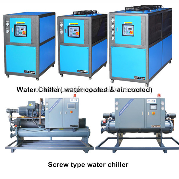 Tornillo industrial chiller