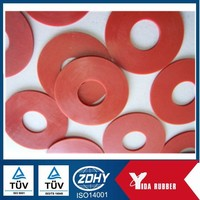 Neoprene Rubber Disc Gasket Material/oil and heat proof rubber grommet