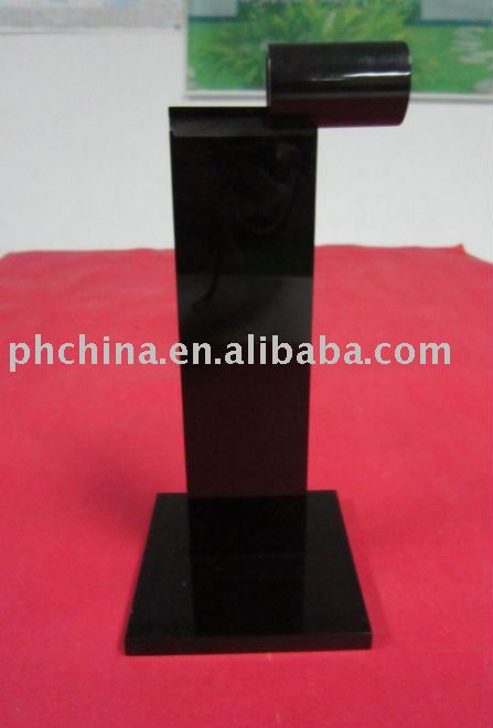 PH-204 Solid Black Acrylic Tabletop Menu Holder /Stand Table Tent