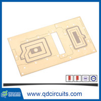 China supply 129 mm*73 mm (1up) 2 layer pcb circuit boards