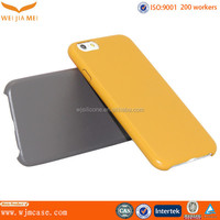 Smartphone PC Back OEM Soft Leather Mobile Accessories 2014 For IPhone 6/ Plus Supplier