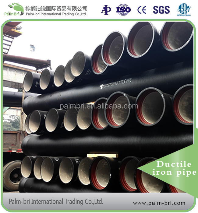High quality 300mm ductile cast iron pipe specifications per meter