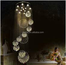 2017 crystal flat chandelier light fiber optic chandelier pendant light