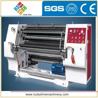 plastic roll material shaftless unwinding Automatic Slitting Machine for sale
