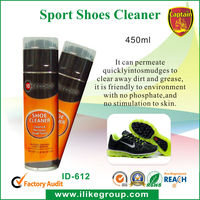 sport shoes foamy cleaner 450ml manufacturer/factory (SGS certificate)