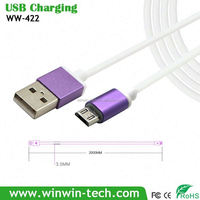 hot sell wall charger adapter micro usb cable with retail box Support Data Transfer