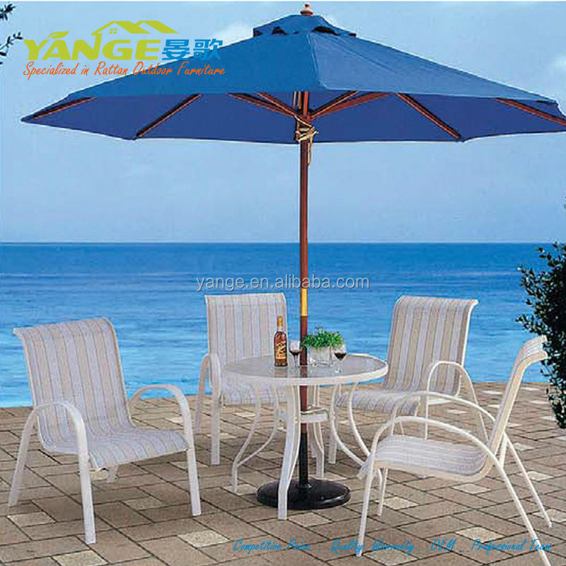 jakarta aluminium outdoor patio rattan furniture set