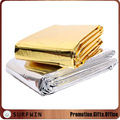 Disposable First aid Silver Aluminum Foil Mylar Emergency Blanket