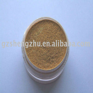 Mica based Shining Red Gold pearl luster pigments powder