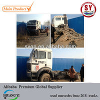 used mercedes benz 2031 trucks for sale