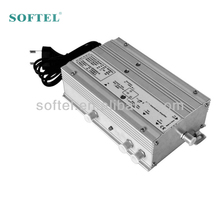 Indoor distribution tv signal amplifier for family use