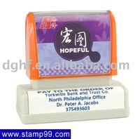 28x68mm flash foam stamp