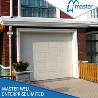 Double Shed Steel Folding Exterior Insulated Garage Door