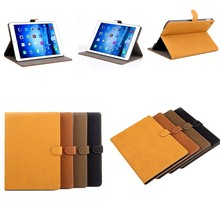 China supplier smart cover flip leather tablet cover for apple ipad air 2