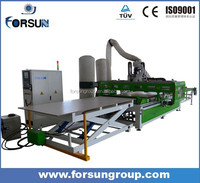 Auto loading and unloading cnc router for furniture industry
