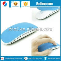 Blue Silicone Soft Mouse Protector Cover Skin for MAC Apple Magic Mouse