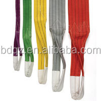 EB polyester flat sling cargo lashing lifting equipment