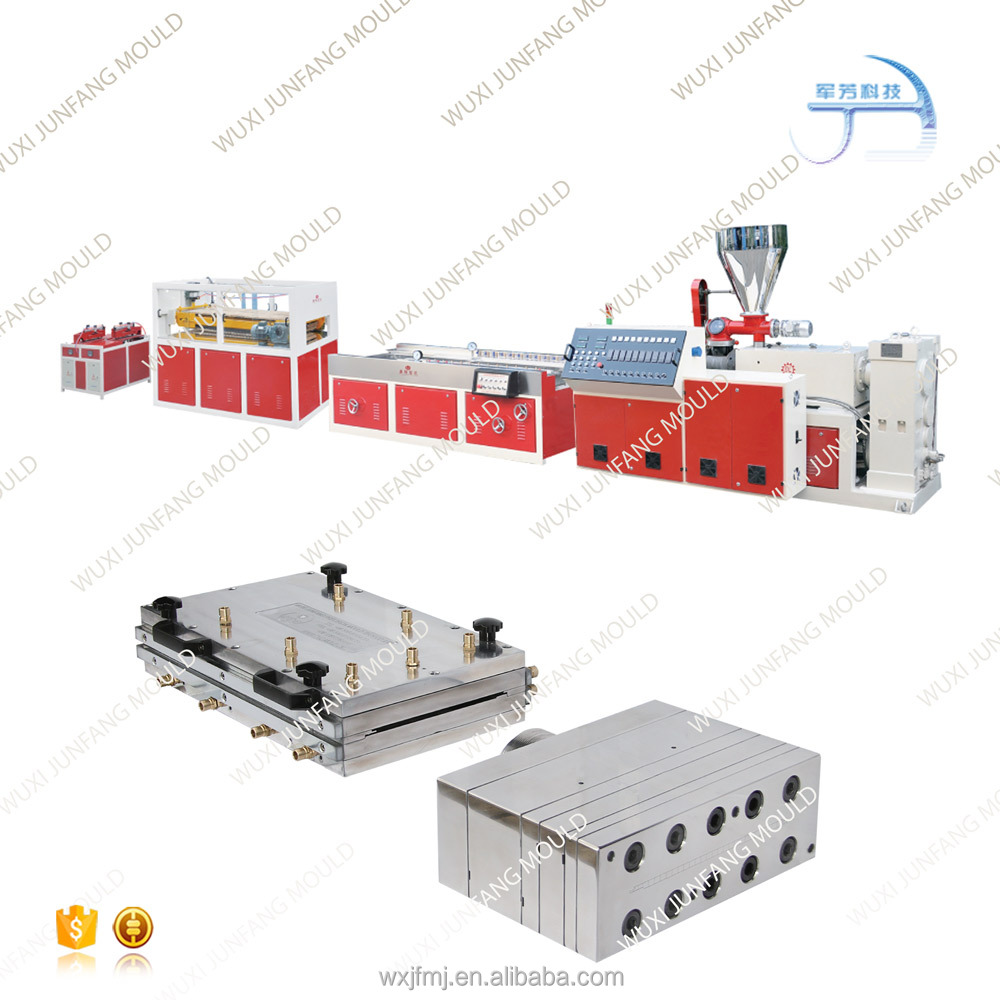 Manufacturer pvc ceiling panel plastic extrusion machine for decoration