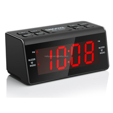 Alarma Dual Digital AM FM Radio Reloj