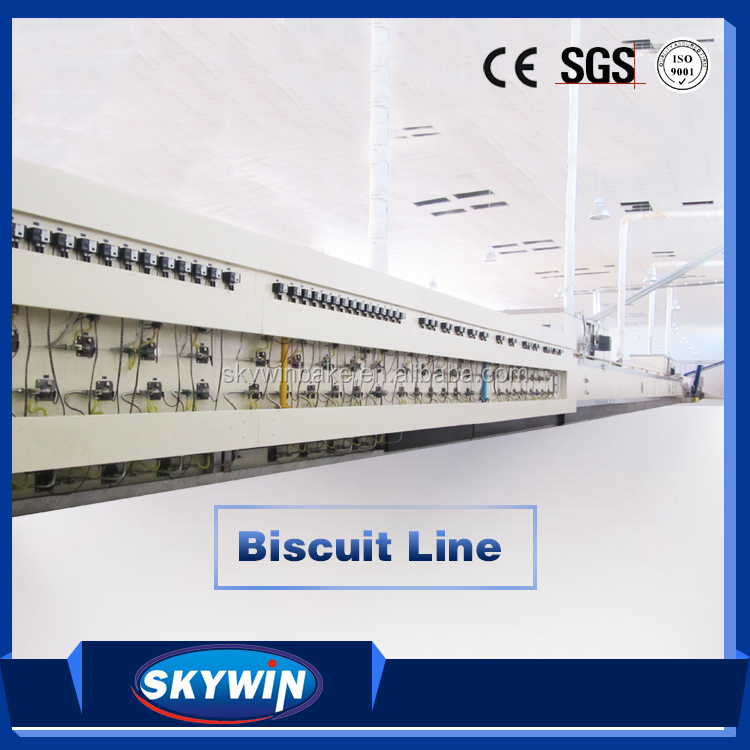 Food Making Machine Automatic Biscuit Processing Machine Line Equipment