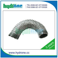 flexible volume control damper for duct hydroponics