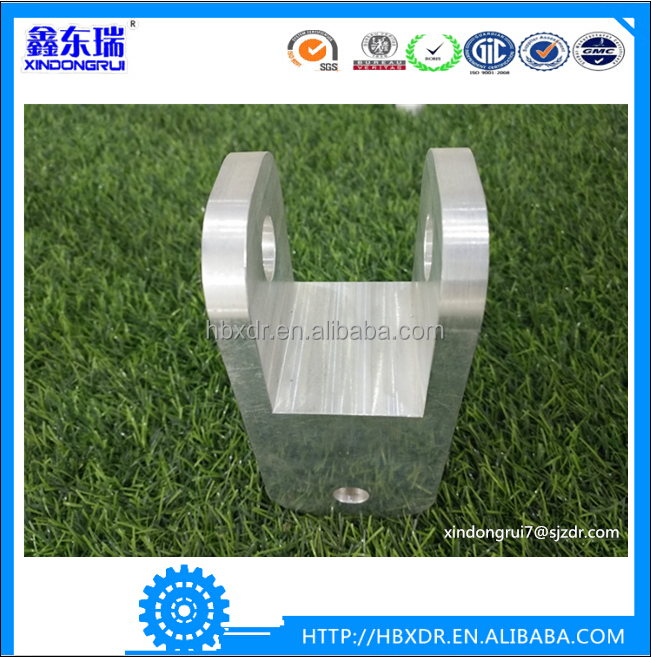 High quality OEM service cnc machining aluminum fabrication parts for suppressor
