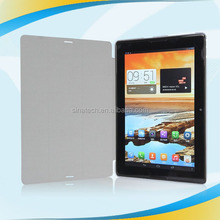 High Quality 360 rotate Tablet leather magnetic slim leather smart cover stand case for lenovo A10-70