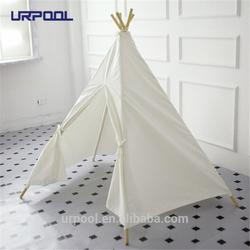 wood pole children kids play indian teepee tent,kids teepee,hot sales children play tent kids teepee