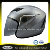 Casco Classic Vintage pure color Open Face Motorcycle helmet without decal