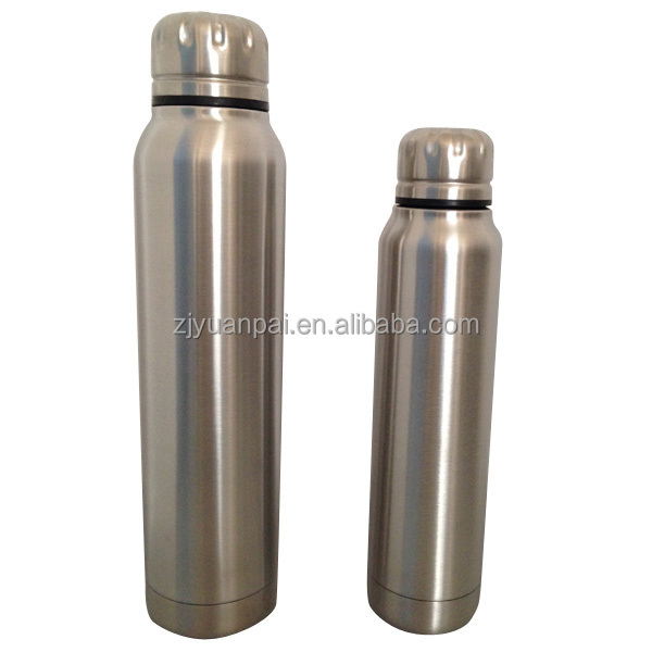 double wall 18/8 stainless steel vacuum insulated my bottle 270ml 500ml