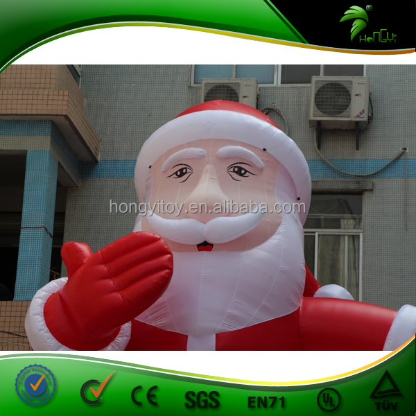 New Inflatable Christmas Product for Decoration Giant Santa Claus Party Event Promotion Christmas Gift