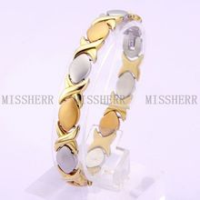 Best selling stainless steel bracelet one gram gold jewellery NSB022