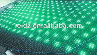DMX/DVI output night club decor soft led video curtain P50