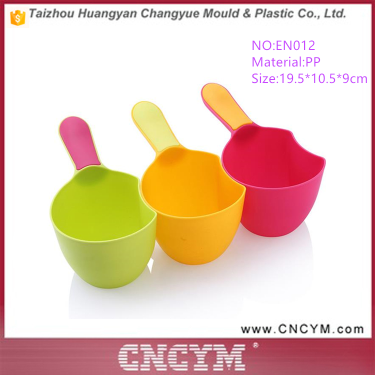Wholesale New Colorful kids bailer Plastic spoon Water Spoon