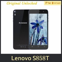 "0510 Lenovo S858T Smartphone 5.0"" 1280x720 IPS MTK6592M Quad Core 1.4GHz Android 4.4 GPS 1GB RAM 8GB ROM Dual 8.0MP Camera"