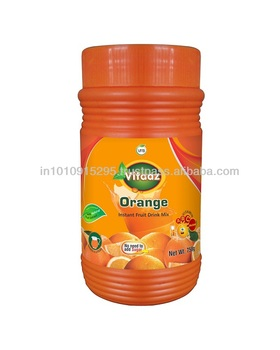 Orange Instant Drink Powder Packed 750g HDPE Jar