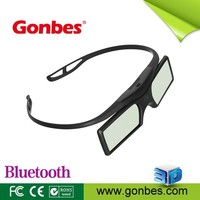 Hot sale low price plastic universal active shutter 3d glasses