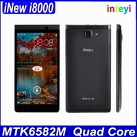"At Stock iNew i8000 Smartphone MTK6582 Quad Core Android 4.2 5.5"" IPS Mobile RAM 1GB ROM 4GB i8000 3G iNew Cellphone"