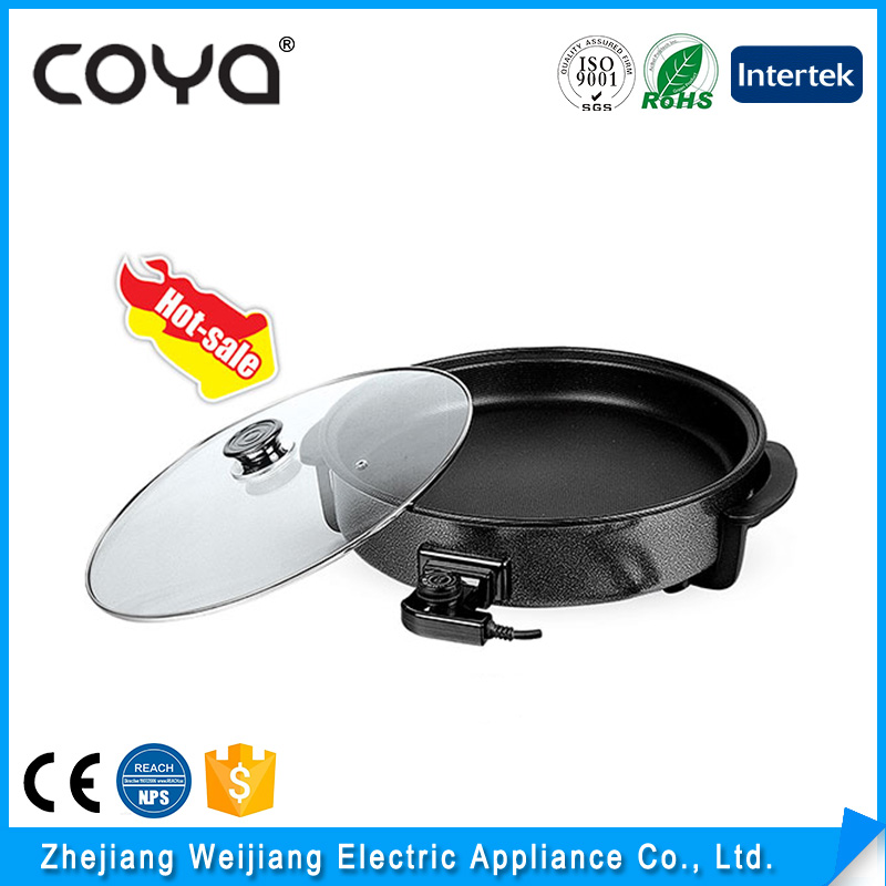 Aluminum mini nonstick electric skillet