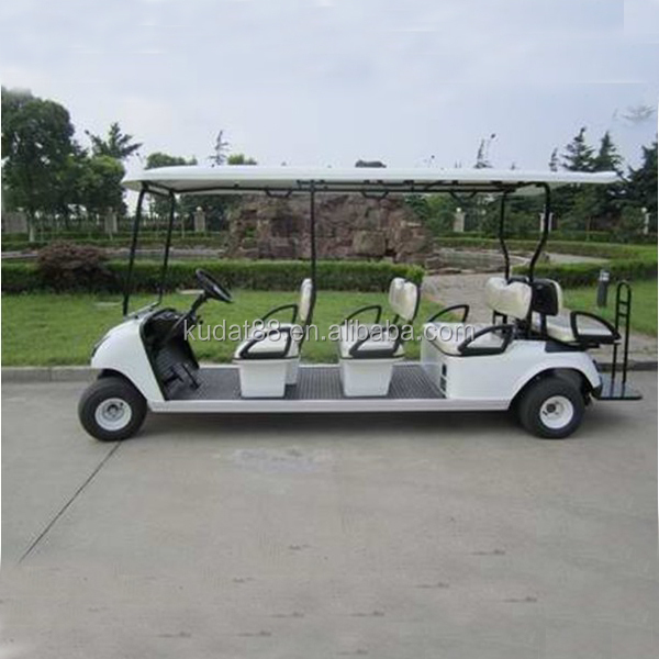 police golf cart(8 seater Electric 48V golf cart)