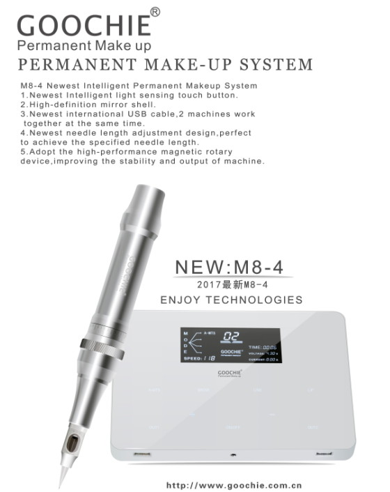 Goochie Top sellling permanent makeup machine 2016