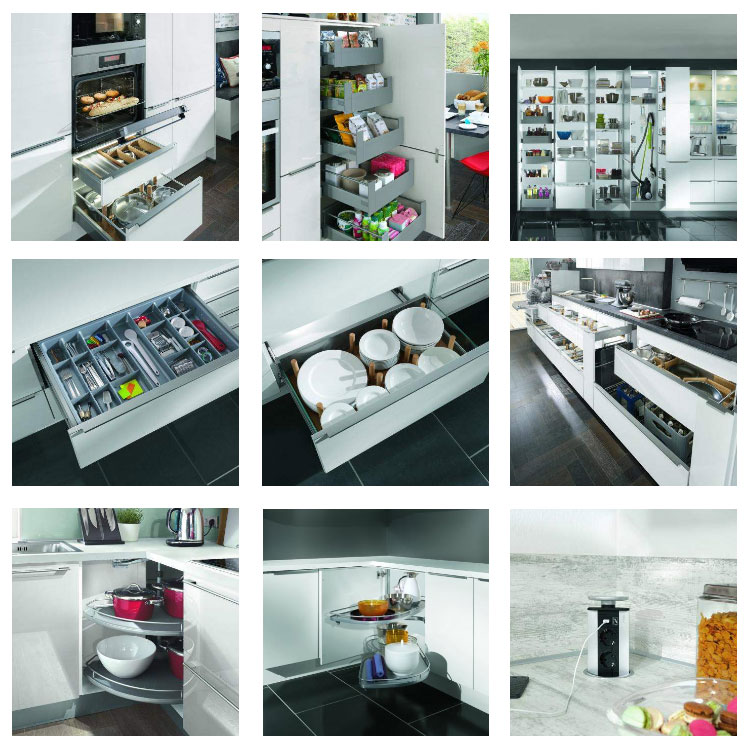 Modern MDF kitchen cabinet design with laminated finish ,kitchen furniture design