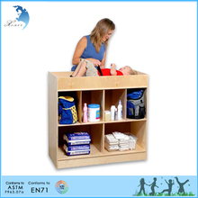 Wooden intelligent toy montessori set furniture changing table