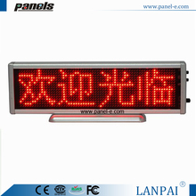 Novel design low price USB charge flexible led light display advertising board
