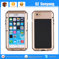 Gorilla Glass Metal Waterproof Case for iphone 6s Protective Cover,for iphone 6 Case