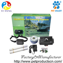 Hot selling dog training fence shock collars,portable electric pet fence for 2 dogs