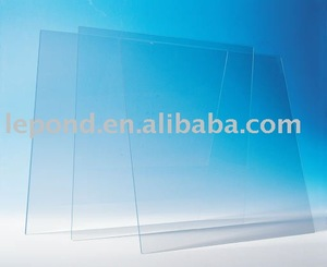 low iron tempered solar glass sheets