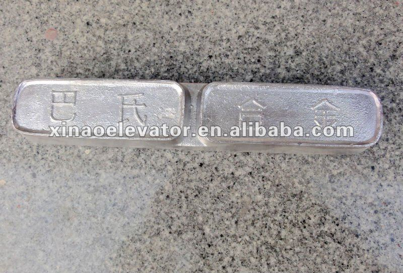 High quality low price elevator parts Babbitt metal