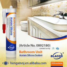 10 Year Guarantee Non Yellowing Fast Curing Anti-Mildew Silcone Based Flexible Ceramic Tile Adhesive